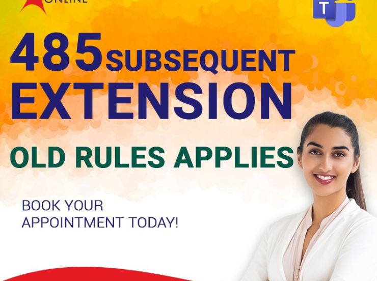 485 Subsequent Extension