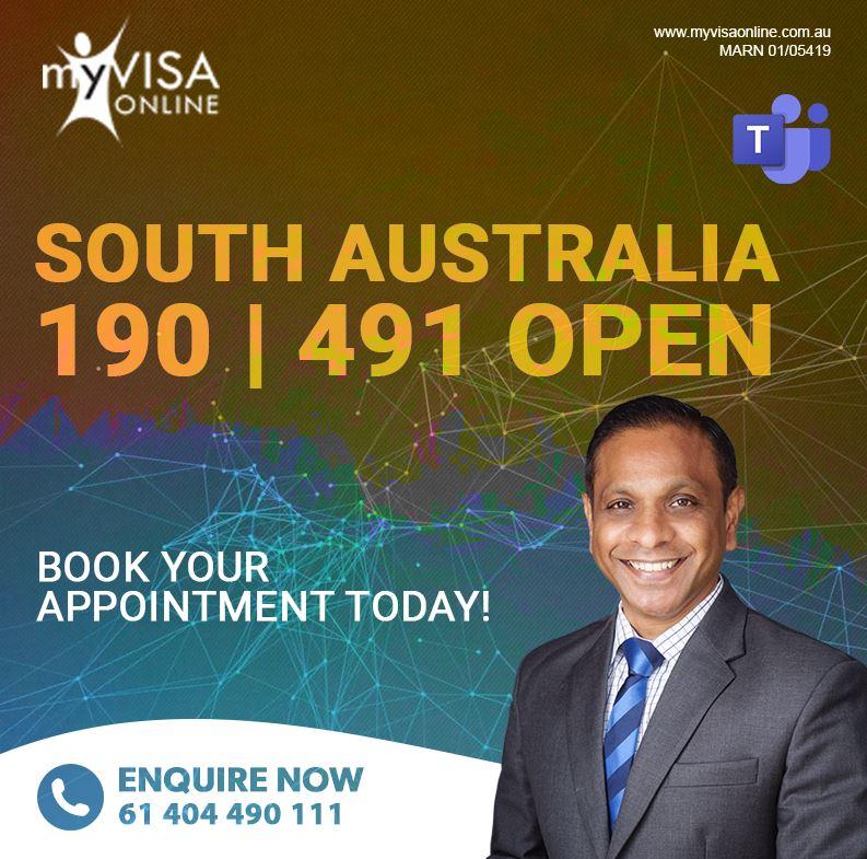 South Australia 190   491 Open