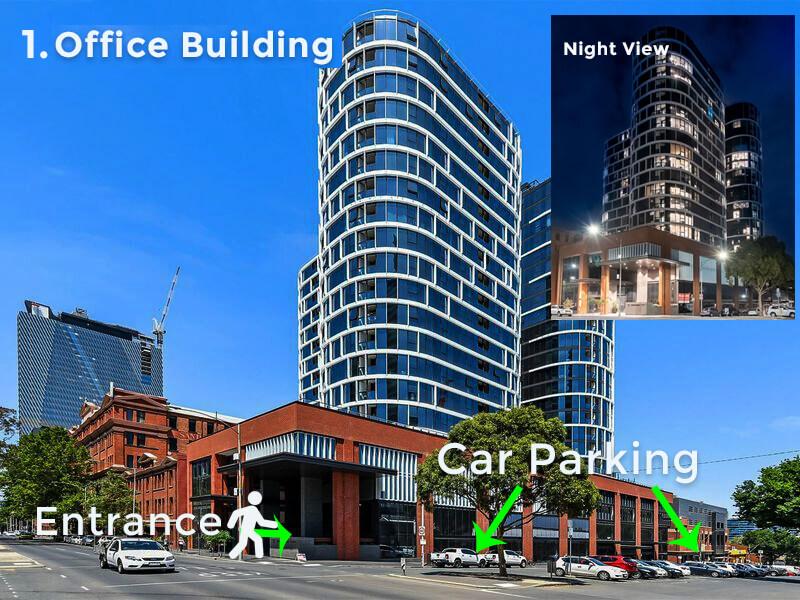 office building entrance myvisa online