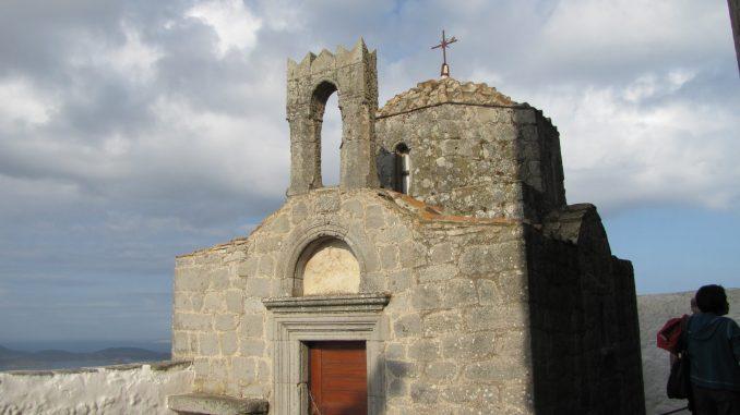 Hilltop church in Patmos