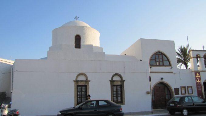 Buildings on Patmos