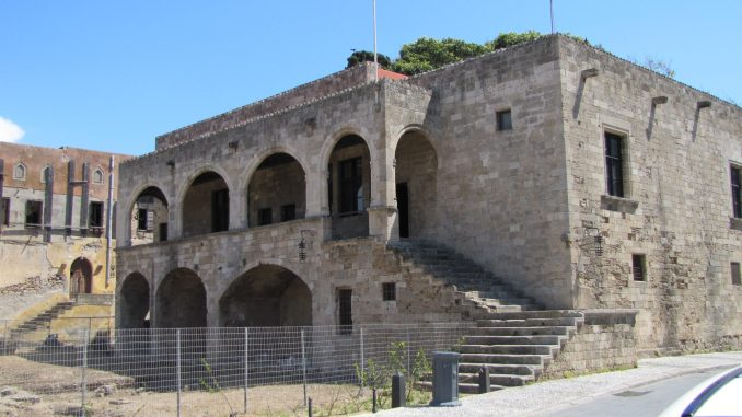 Old building in Rhodes