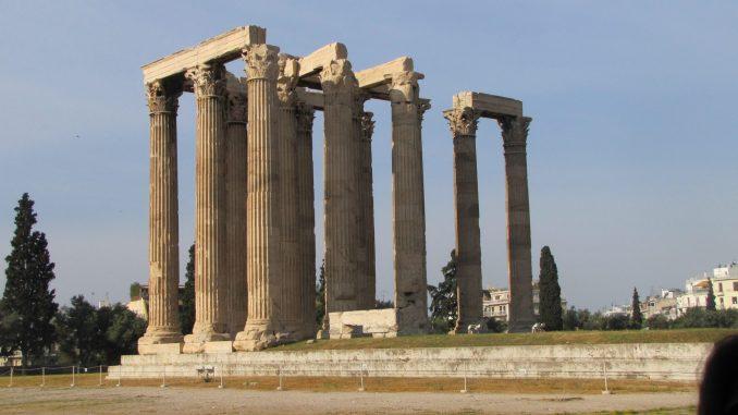 Ruins at the Acropolis