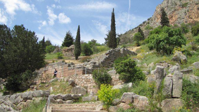 Ruins at Delphi