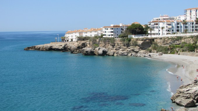 The southern coast of Spain east of Malaga