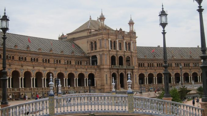 In Seville Spain