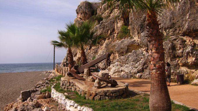 Along the coast east of Malaga