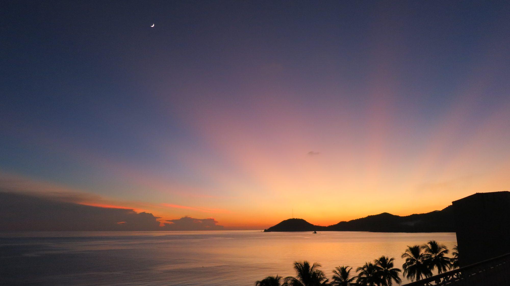 sunset in cuba photo