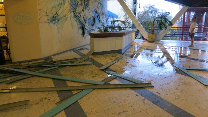 Inside the Melia Hotel Santiago