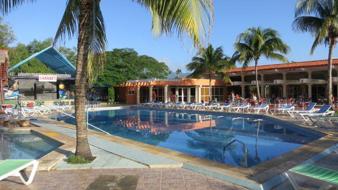 Hotel Pool at Maria del Portillo
