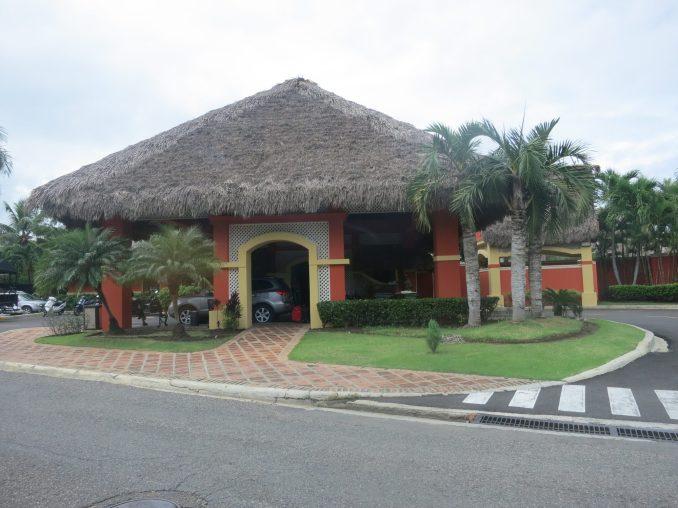 Entrance to Marina beach hotel
