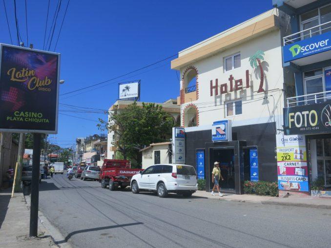 Street view in Sosua