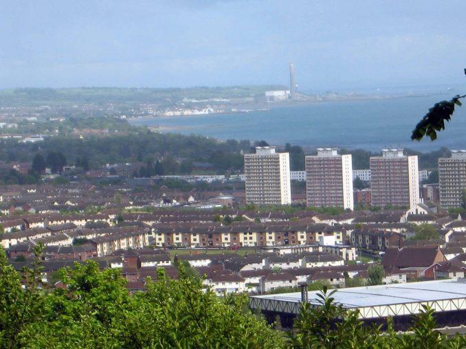 Overlooking the Belfast Lough