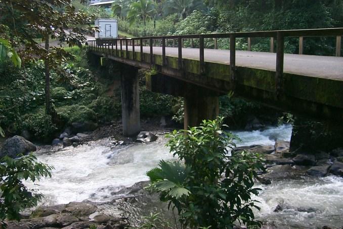 Mountain stream near Fortuna