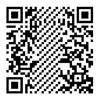 QR code for testing UPI payments
