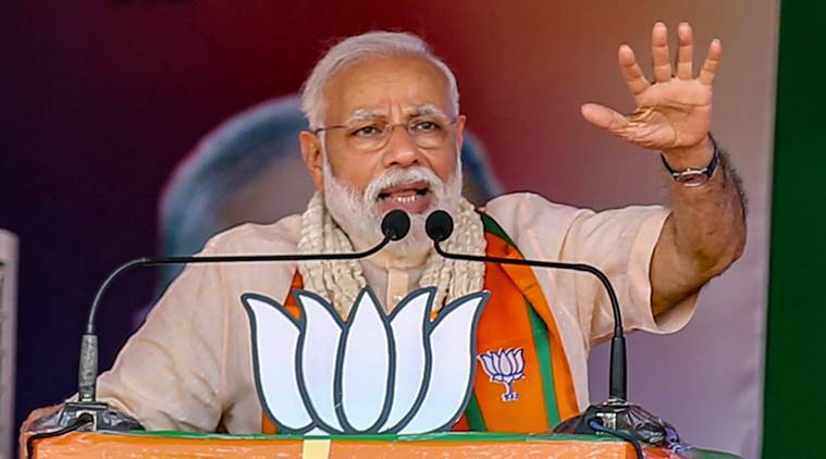 'Jan Shakti' and versus 'Dhan Shakti': Defeat dynast, elect Modi, save India