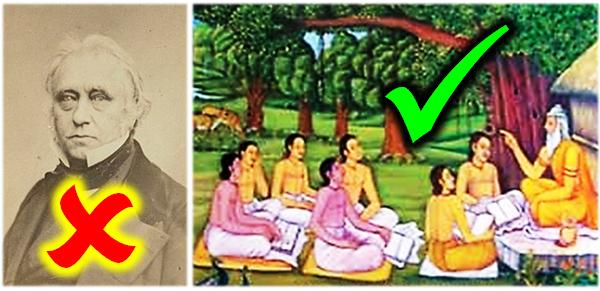 British Macaulayism vs. Indian Gurukul