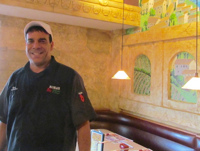 Mark Galluzzo is seen at his restaurant, Roma's Ristorante and Lounge in East Troy. Galluzzo died Friday night in a motorcycle vs. car crash in Eagle.