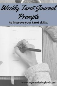 tarot journal prompts