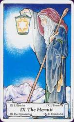 The Hermit - seeking inward guidance and solitude