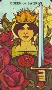Queen of Swords - Honest, wise, transparency