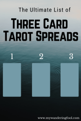 The Ultimate List of Three Card Tarot Spreads