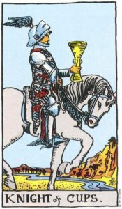 Knight of Cups Rider Waite Tarot