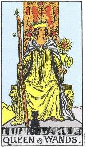 Queen of Wands Rider Waite MyWanderingFool Tarot