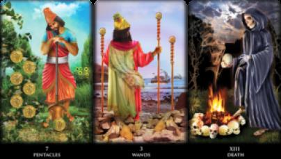 Death New Babylonian Tarot