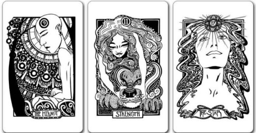 Heart Hands Tarot Deck