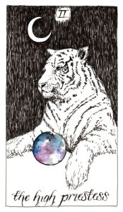 The High Priestess - The Wild Unknown Tarot