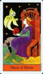 Halloween Tarot Deck Queen of ghosts