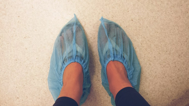 internationale baan slippers warm werktas