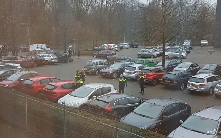 Politie bij de buren