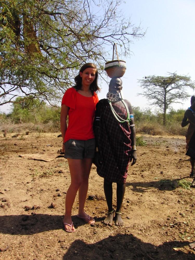 vrouw-alleen-in ethiopië