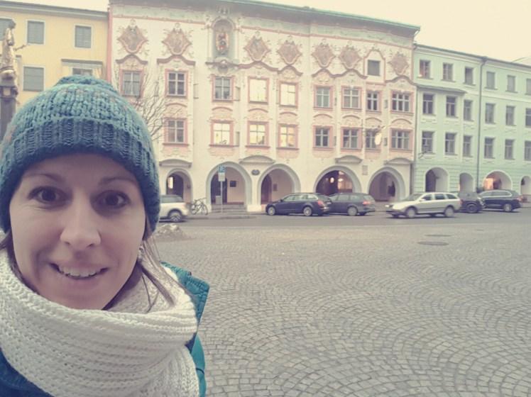 Het oude centrum van Wasserburg Duitsland