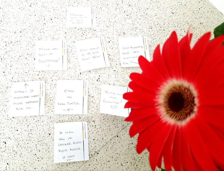 Verzameling lieve briefjes van Maarten