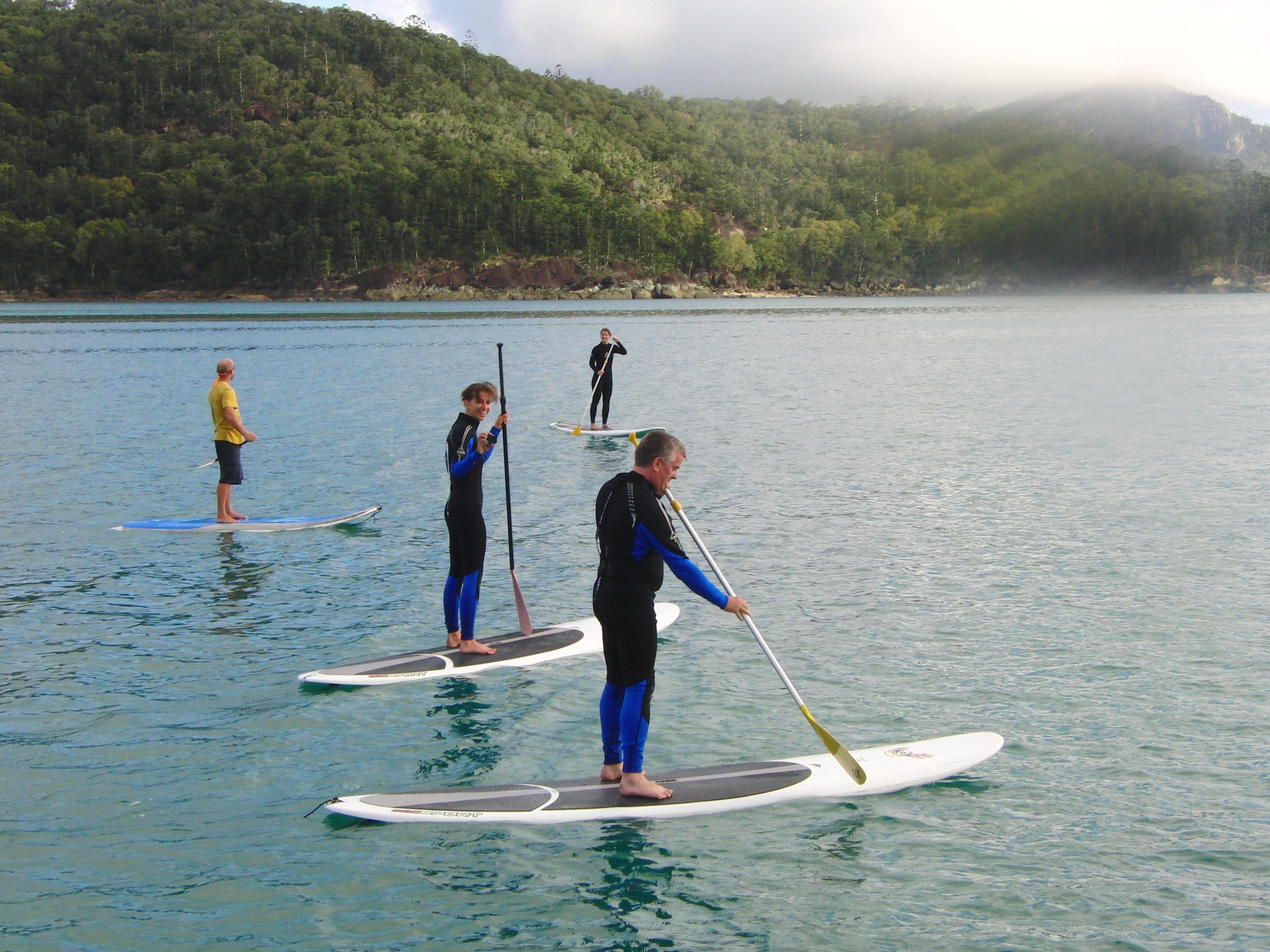 Great Barrier Reef Australië peddleboarding SUP