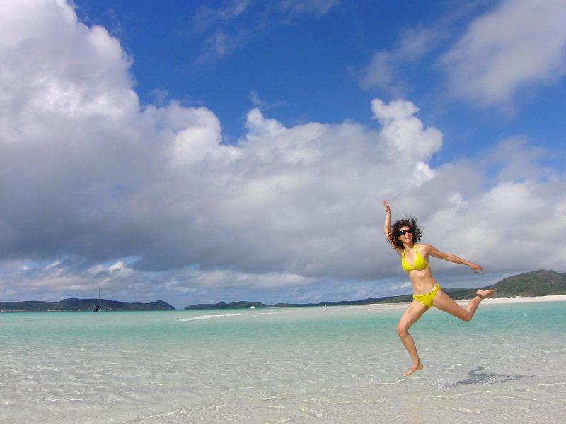 Whitsundays Australië strand