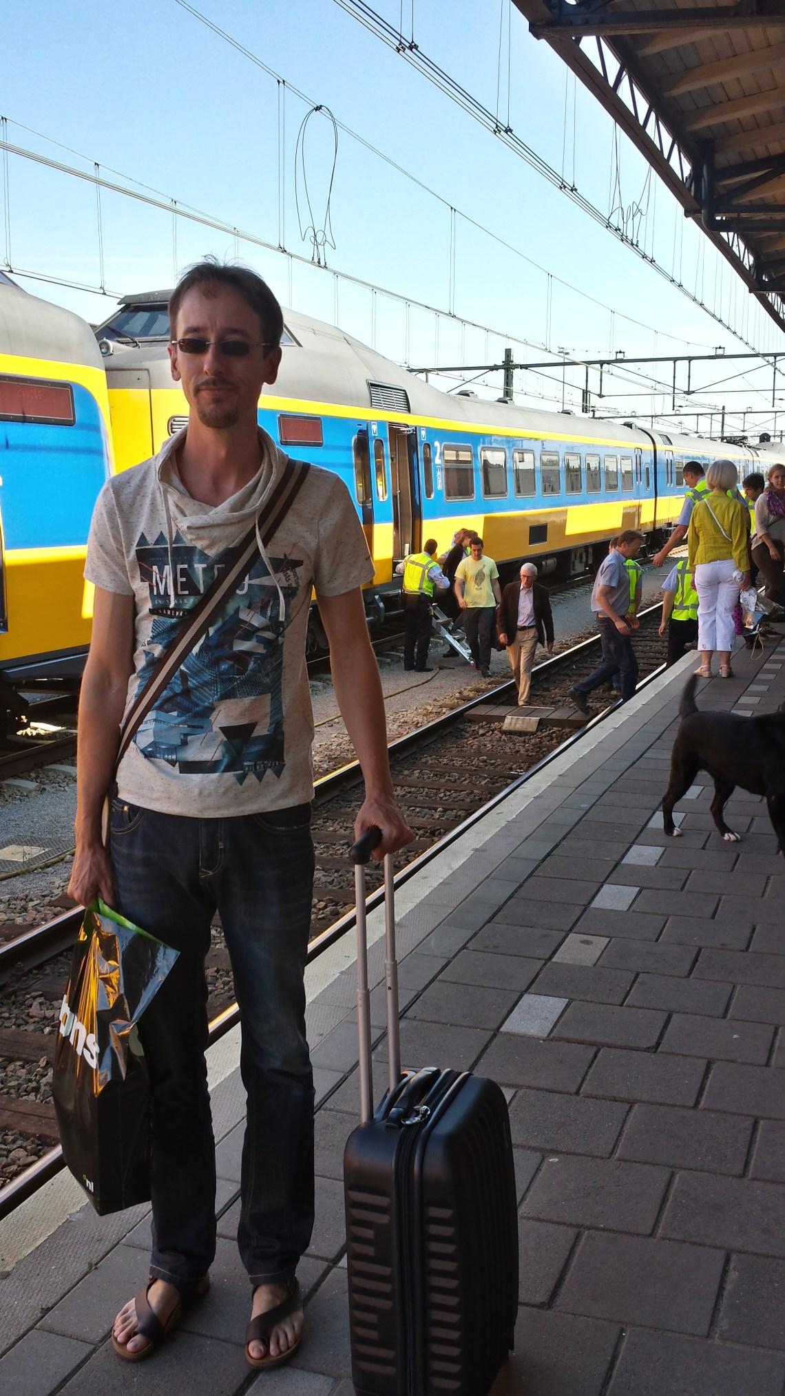 Vertraging NS internationale trein