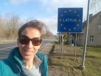 Grensovergang Letland