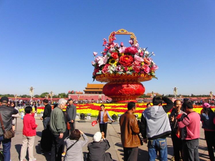 Op het Plein van de Hemelse Vrede Beijing China