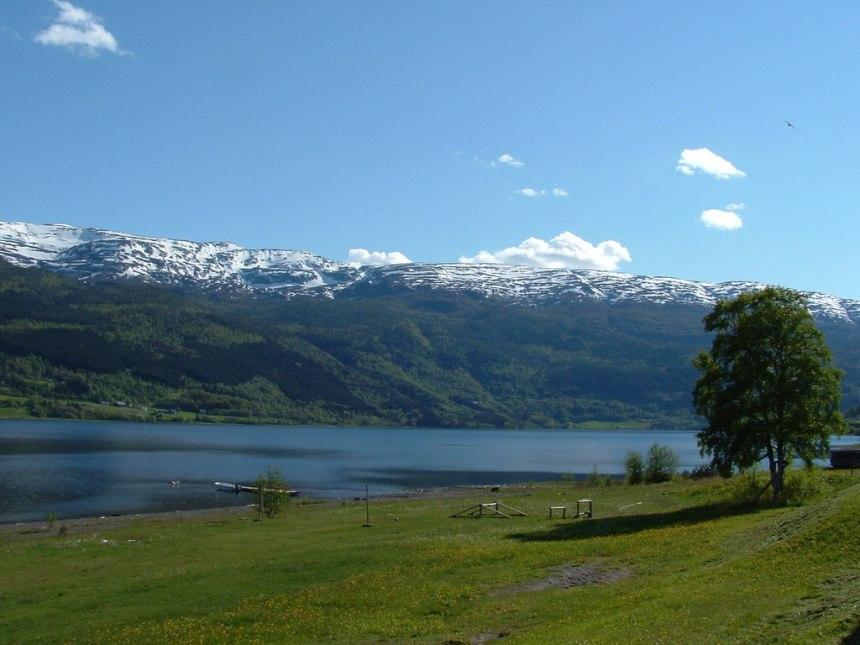 Voss meer Noorwegen
