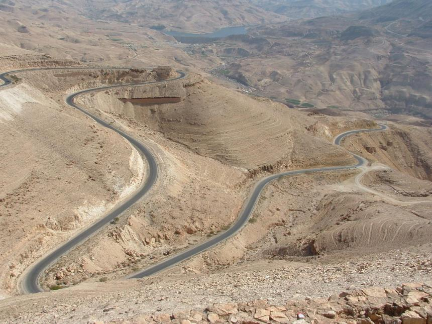 Onderweg Jordanië