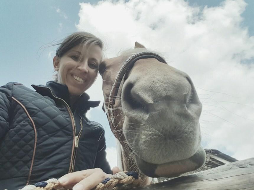 paard selfie pruillip