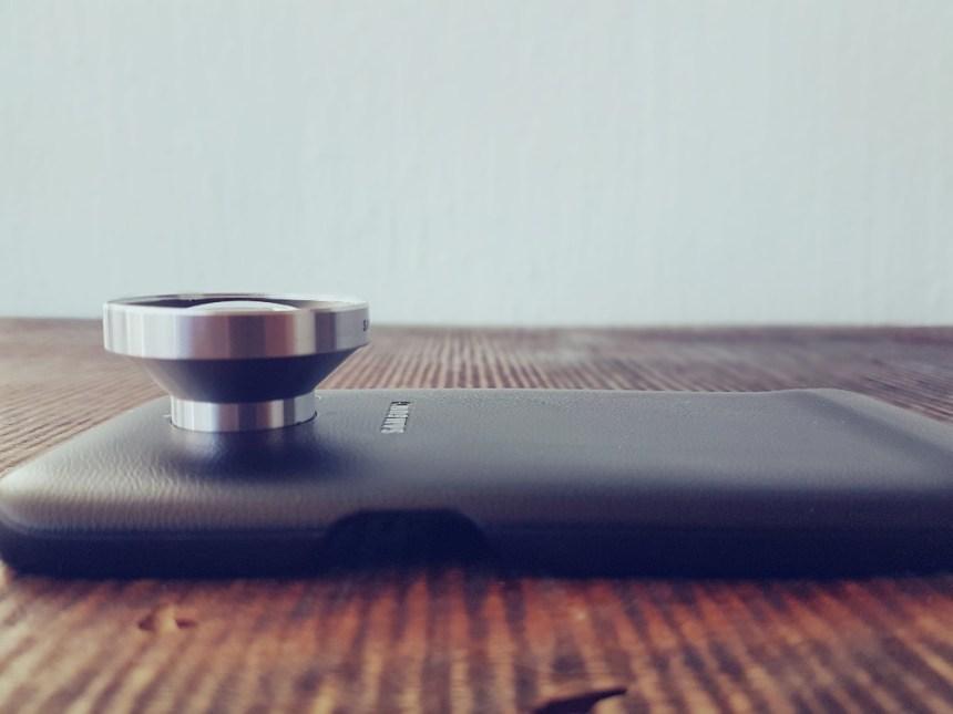 Wide angle lens telefoon