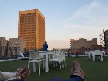 Hotel Johannesburg Zuid Afrika