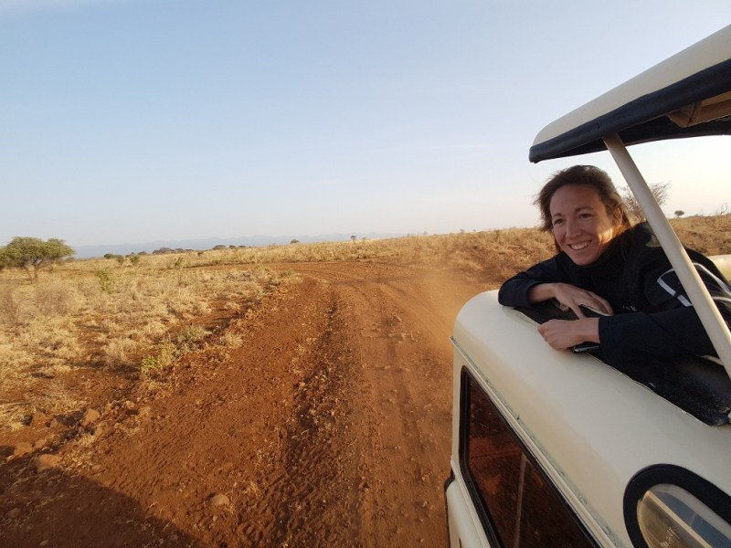 struisvogels Meru National Park Kenia