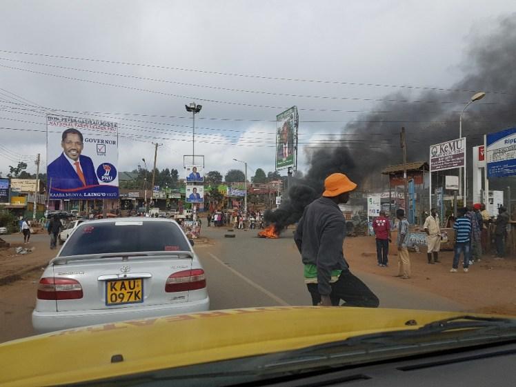 rellen in Kenia