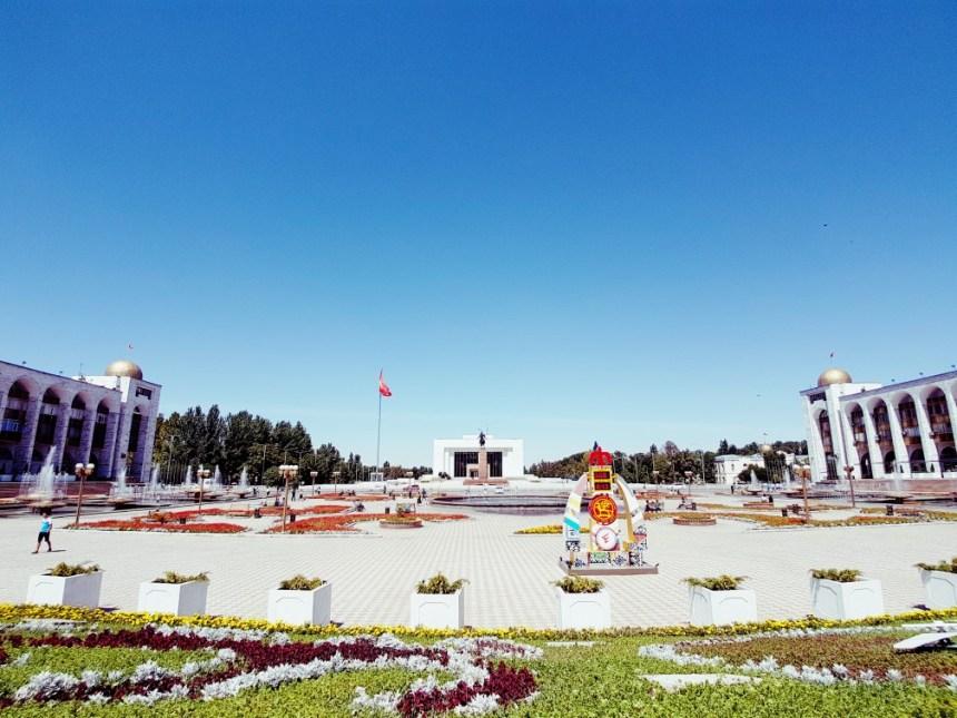 Ala too plein Bishkek Kirgizië